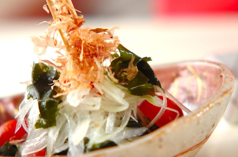 ワカメと玉ネギの和風サラダの作り方の手順5
