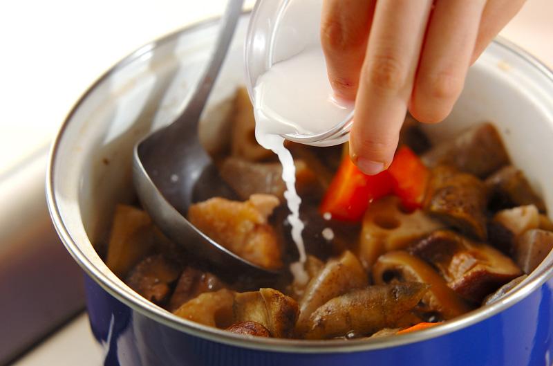 しっかり味の筑前煮の作り方の手順11