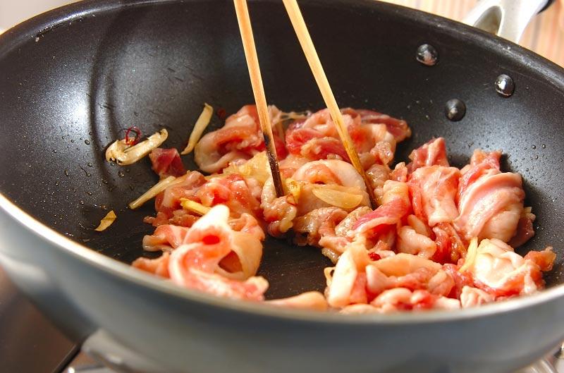 豚肉のナンプラー炒めの作り方の手順6
