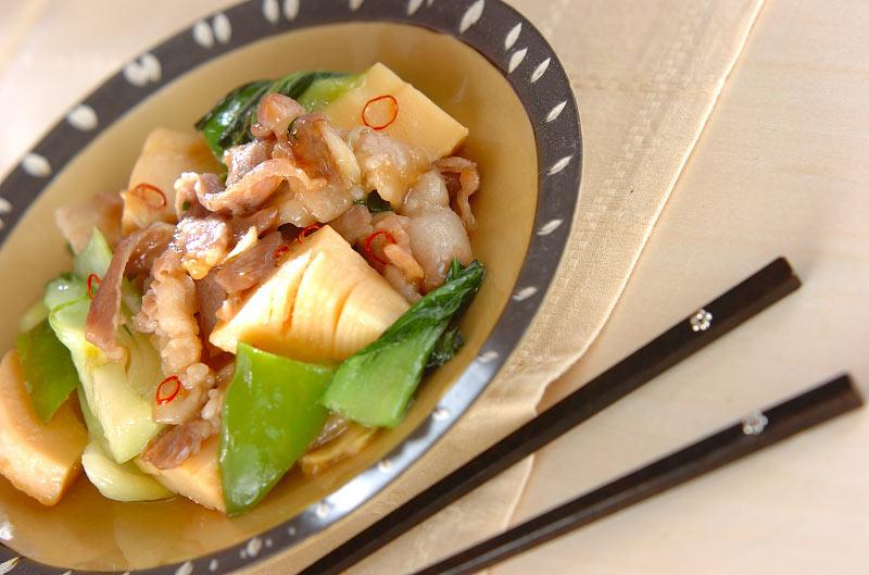 豚肉のナンプラー炒めの作り方の手順