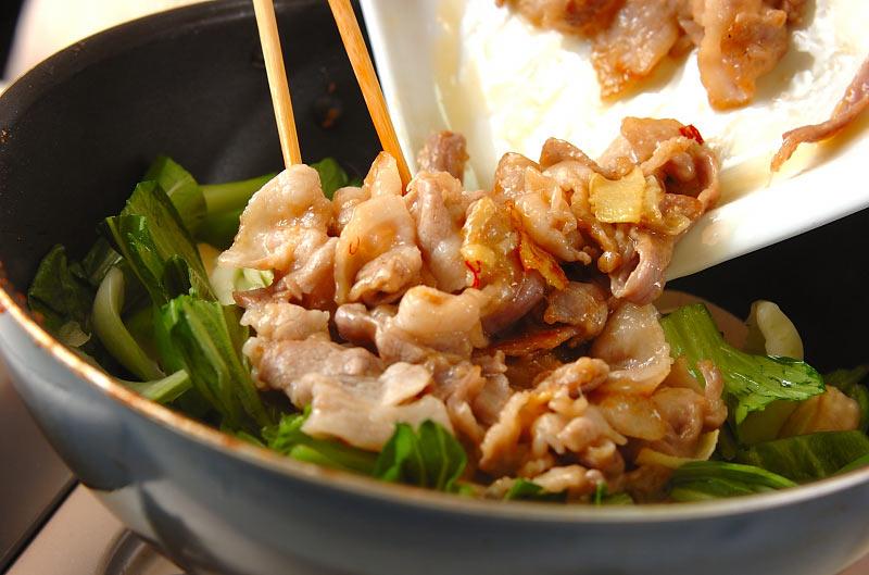 豚肉のナンプラー炒めの作り方の手順7