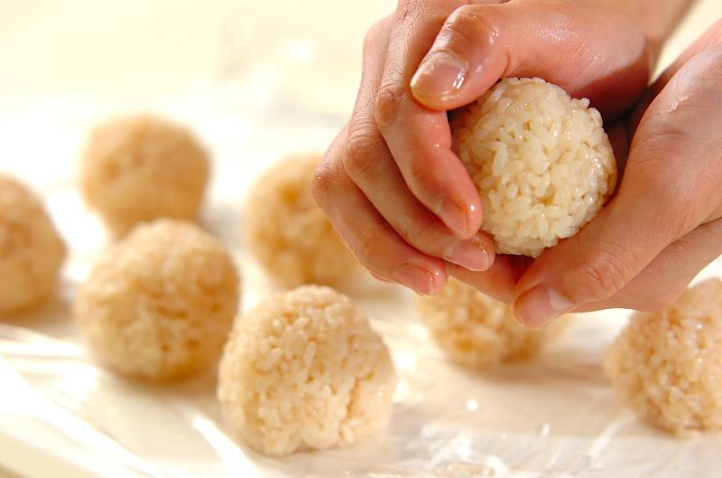 くまさん手まり寿司の作り方の手順3