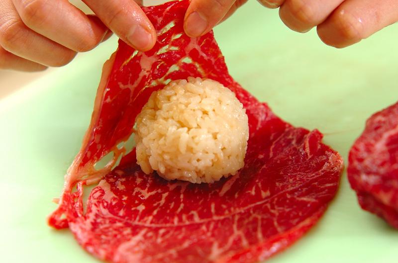 くまさん手まり寿司の作り方2