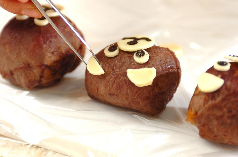 くまさん手まり寿司の作り方の手順6