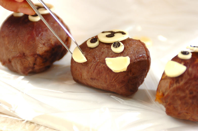 くまさん手まり寿司の作り方4