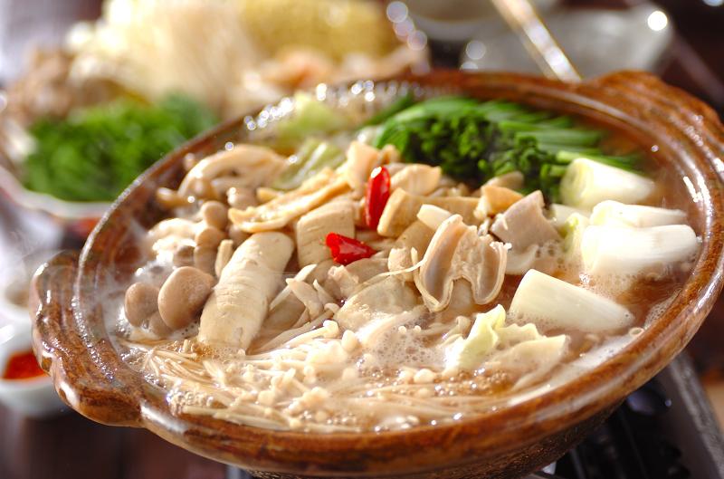 モツ鍋【E・レシピ】料理のプロが作る簡単レシピ/2008.12.22公開のレシピです。