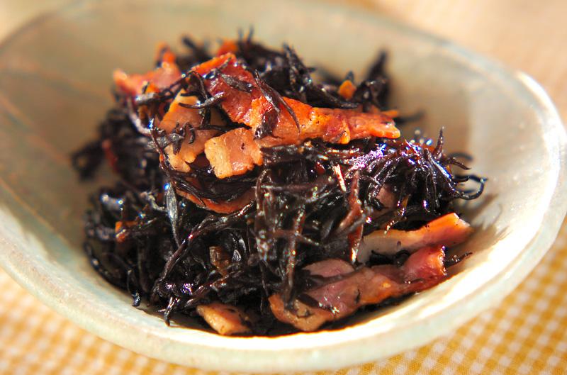 ヒジキのピリ辛炒めの作り方の手順