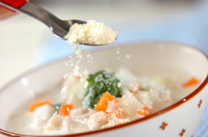長芋のミルクスープの作り方3
