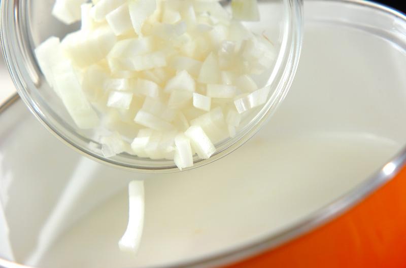 長芋のミルクスープの作り方の手順4