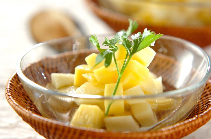 リンゴとマンゴーのマチェドニアの作り方の手順
