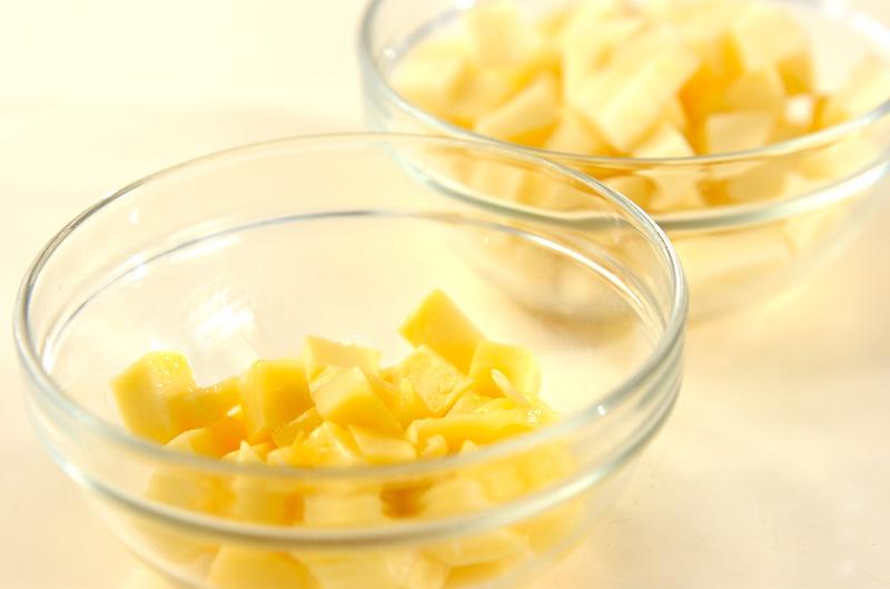 リンゴとマンゴーのマチェドニアの作り方の手順2