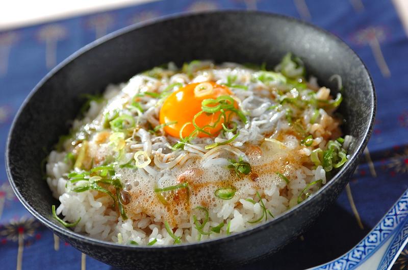ふわふわ食感!シラス納豆丼の作り方の手順