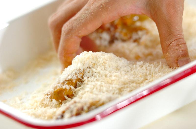 カレー風味のレバーカツ丼の作り方1