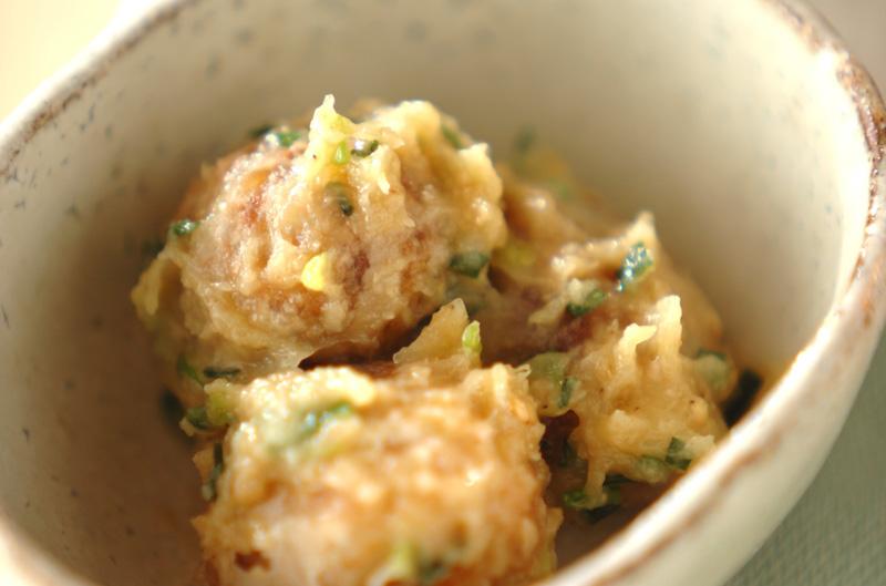里芋のゴマみそ和えの作り方の手順