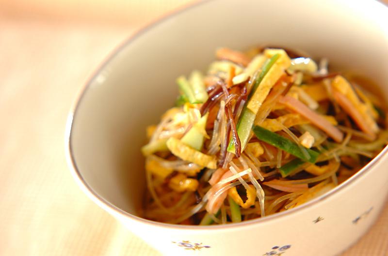 春雨のピリ辛中華風サラダの作り方の手順