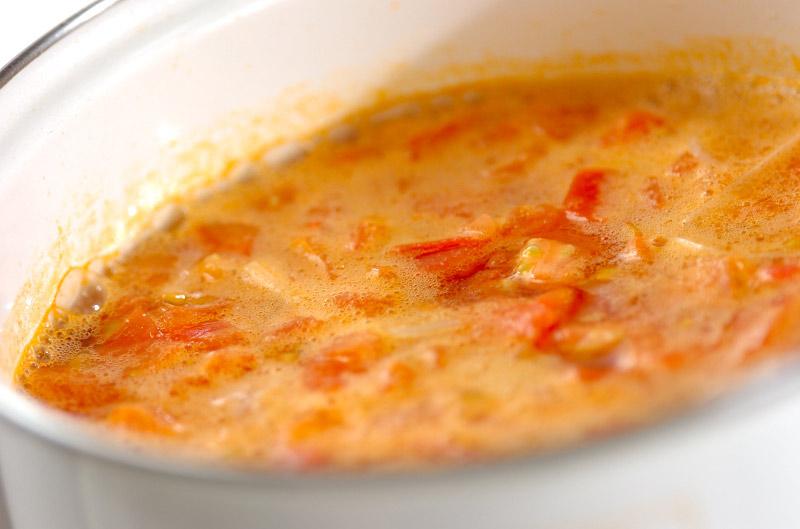 絶品!フレッシュトマトのコンソメスープの作り方の手順3
