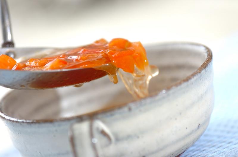 絶品!フレッシュトマトのコンソメスープの作り方の手順4