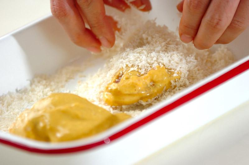 鶏肉のカレーフライの作り方の手順5