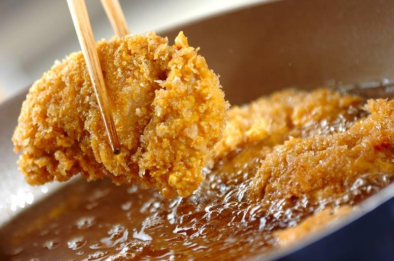 鶏肉のカレーフライの作り方の手順6