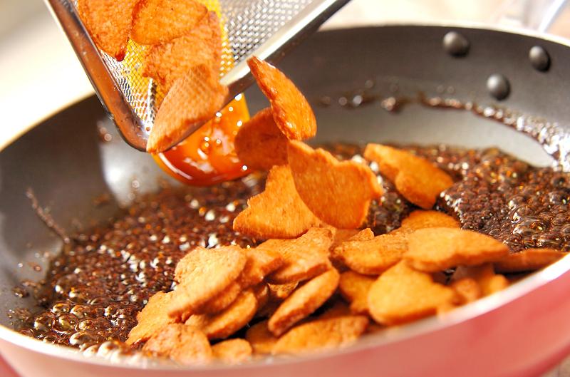 おからの黒糖かりんとうの作り方の手順3