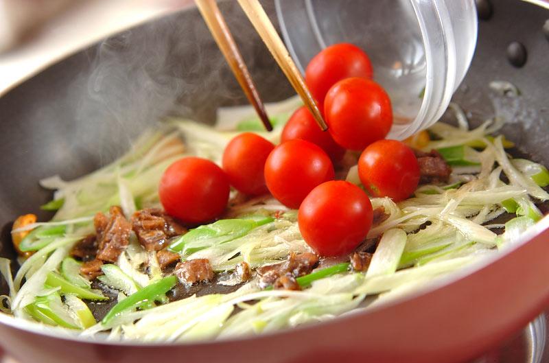お豆たっぷりパスタの作り方の手順9