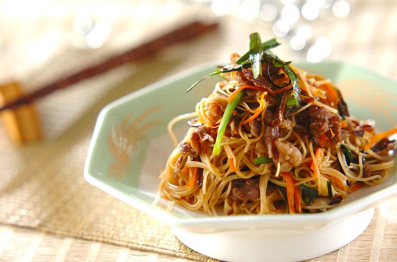 チャプチェ風素麺