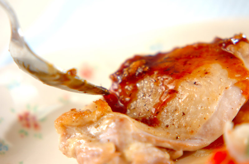 チキンソテー・ショウガソースの作り方の手順6