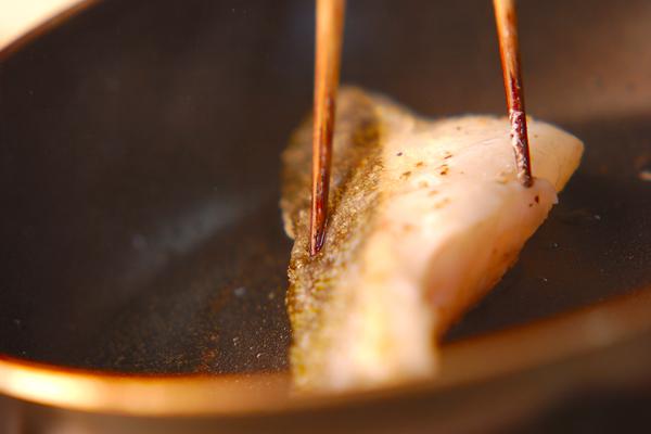 魚のソテーセットの作り方の手順3