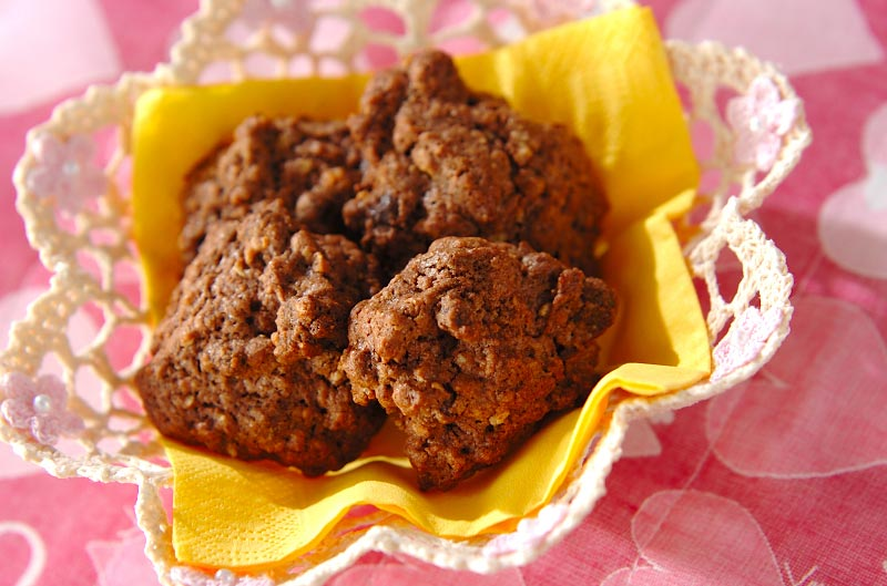 オートミールココアクッキー