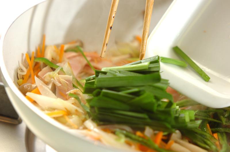 炒め素麺の作り方の手順10