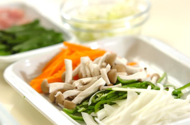炒め素麺の作り方の手順2