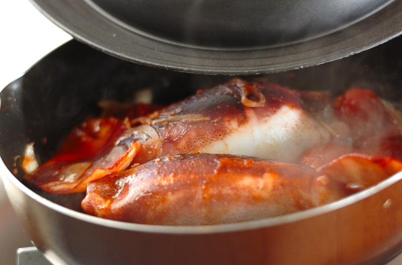 イカのチーズファルシーの作り方の手順7