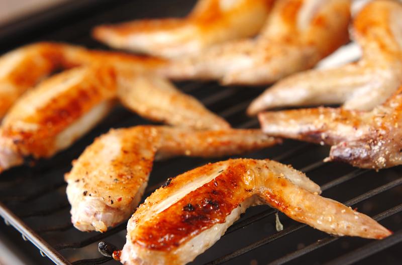 鶏手羽先の塩焼きの作り方の手順6