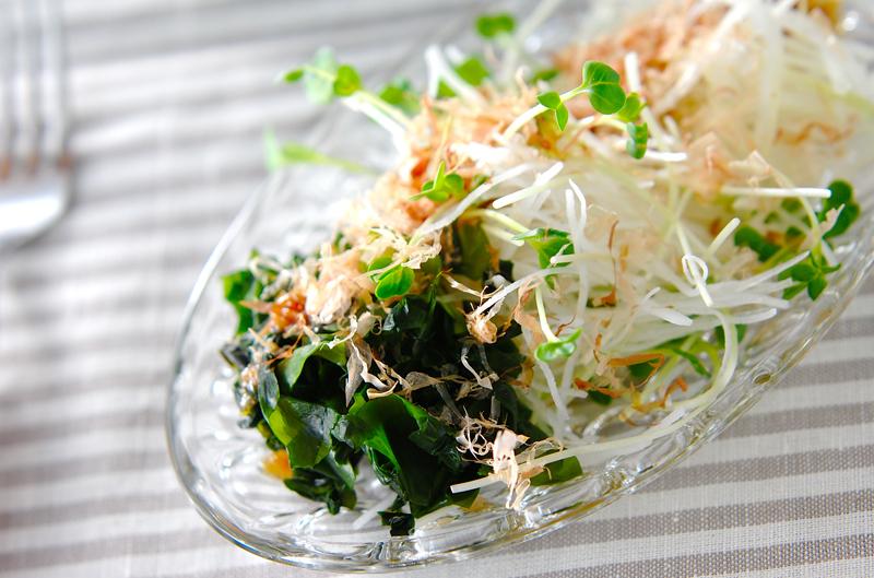 パリパリ大根サラダの作り方の手順