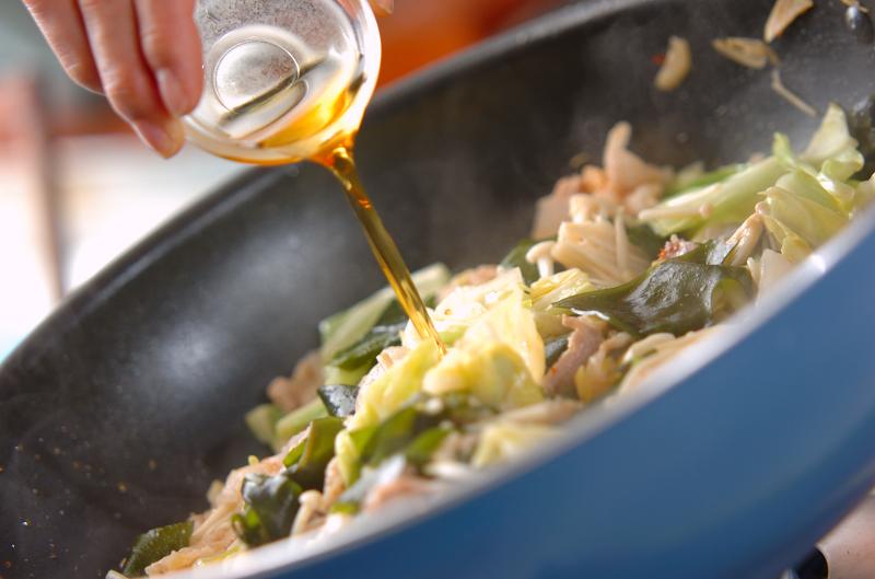 豚肉とキャベツの炒め物の作り方の手順8