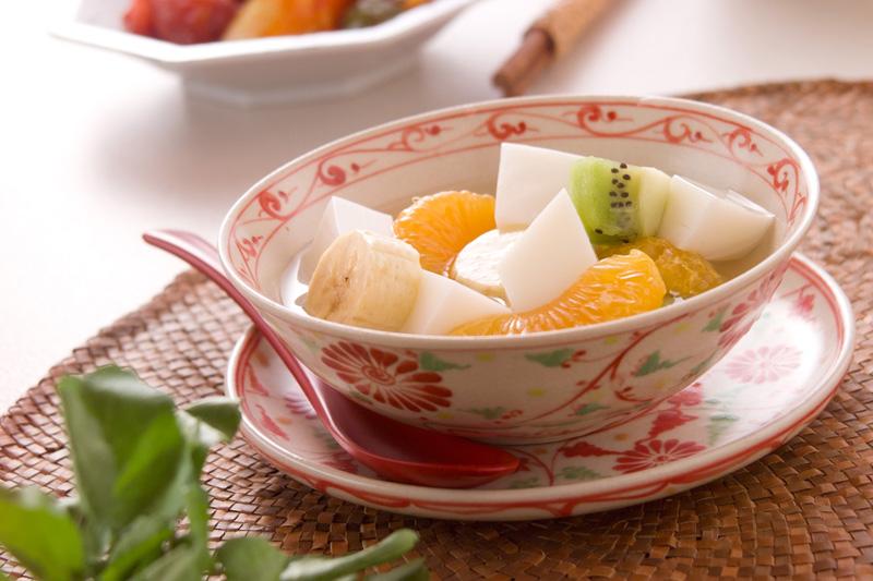 アンニン豆腐の作り方の手順