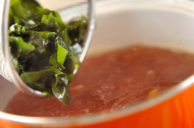 タコと大豆のスープの作り方の手順5
