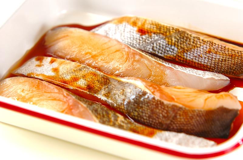 白身魚・ホワイトソースの下準備1