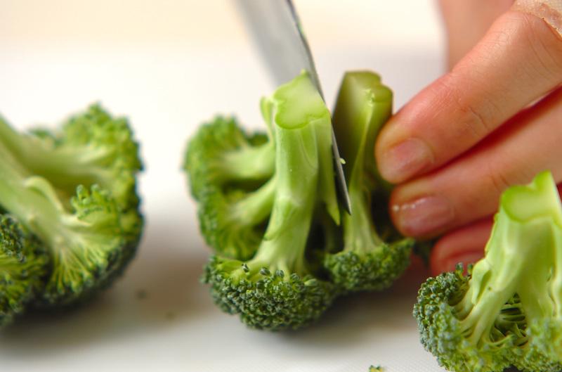 温野菜のユズコショウサラダの作り方の手順1