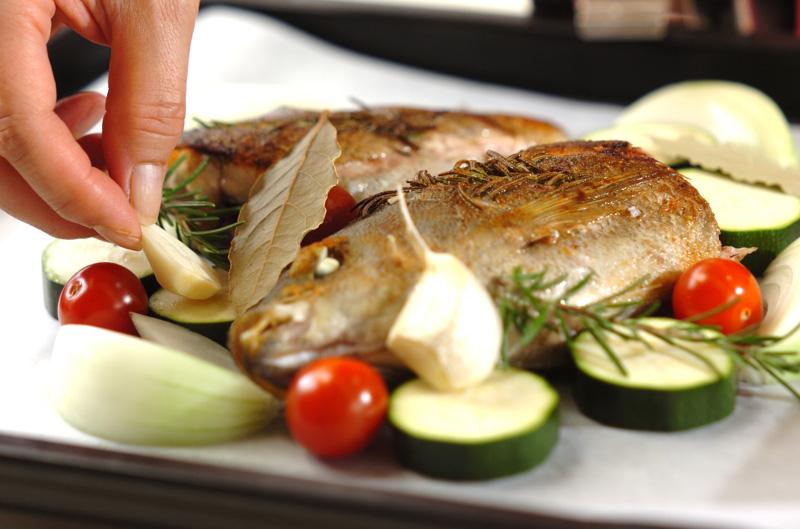 イサキと野菜のオーブン焼きの作り方の手順8