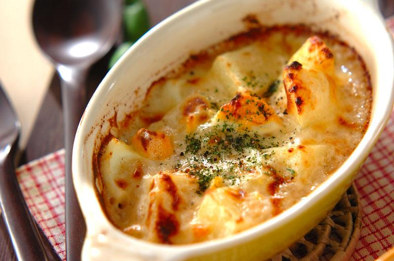焼きチーズポテト