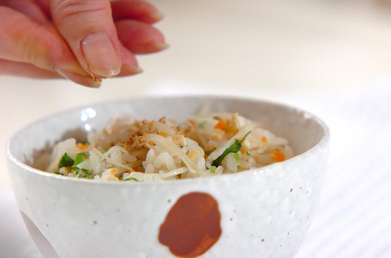 新ショウガご飯の作り方の手順9