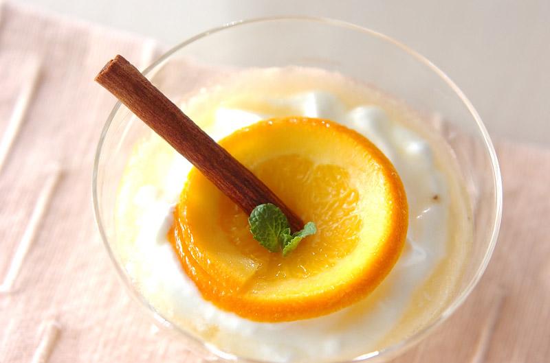 ヨーグルト・オレンジソース