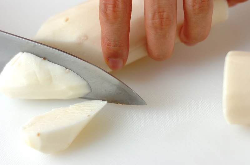 大和芋の納豆ダレの作り方の手順1