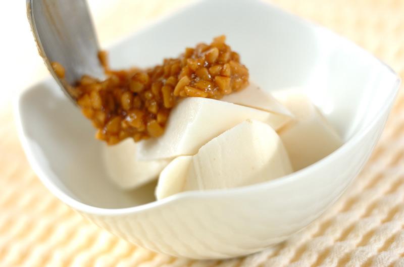 大和芋の納豆ダレの作り方の手順3