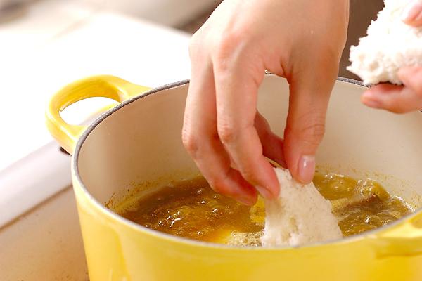 コロッケのカレーの作り方の手順6