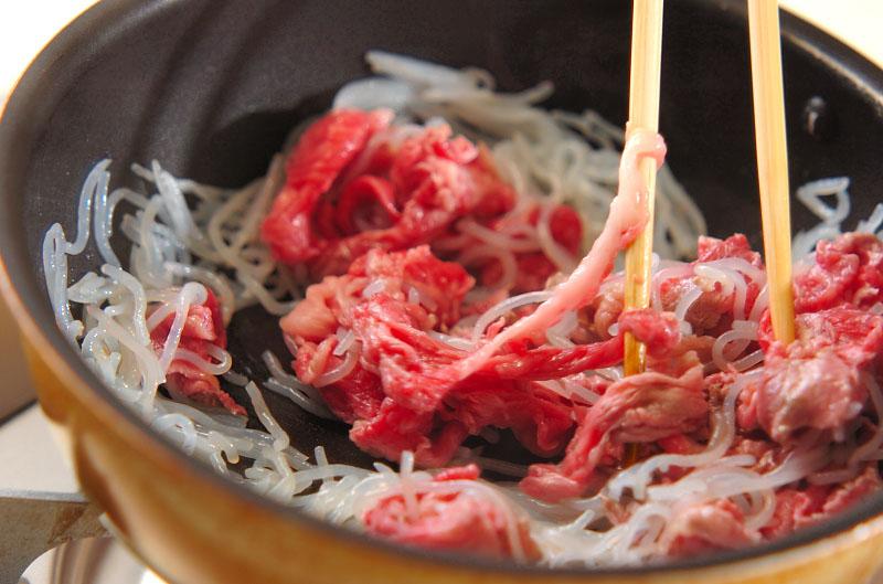 牛肉豆腐の作り方の手順7