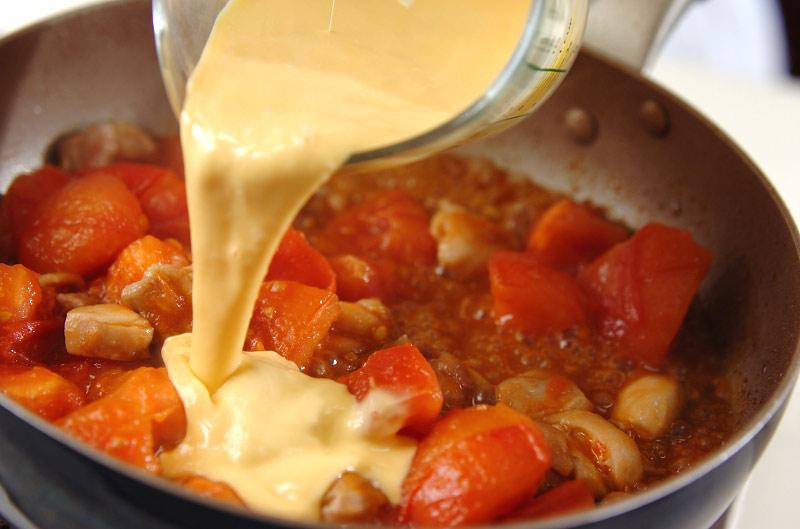 トロトロトマト丼の作り方の手順5