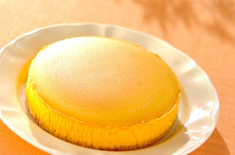 カボチャのチーズケーキ