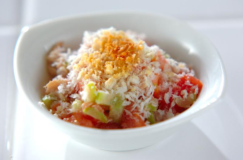 トマトとツナのサラダのポイント・コツ1